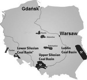 Poland-mining-map